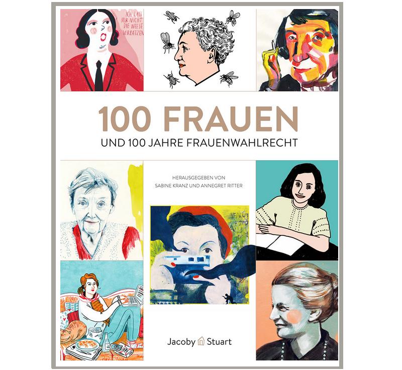 100FrauenProjekt Buch Sylvia Wolf