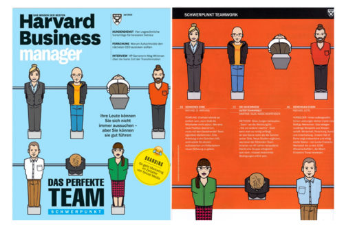 Character Character design Figur Cover Harvard Business Manager Illustration Sylvia Wolf