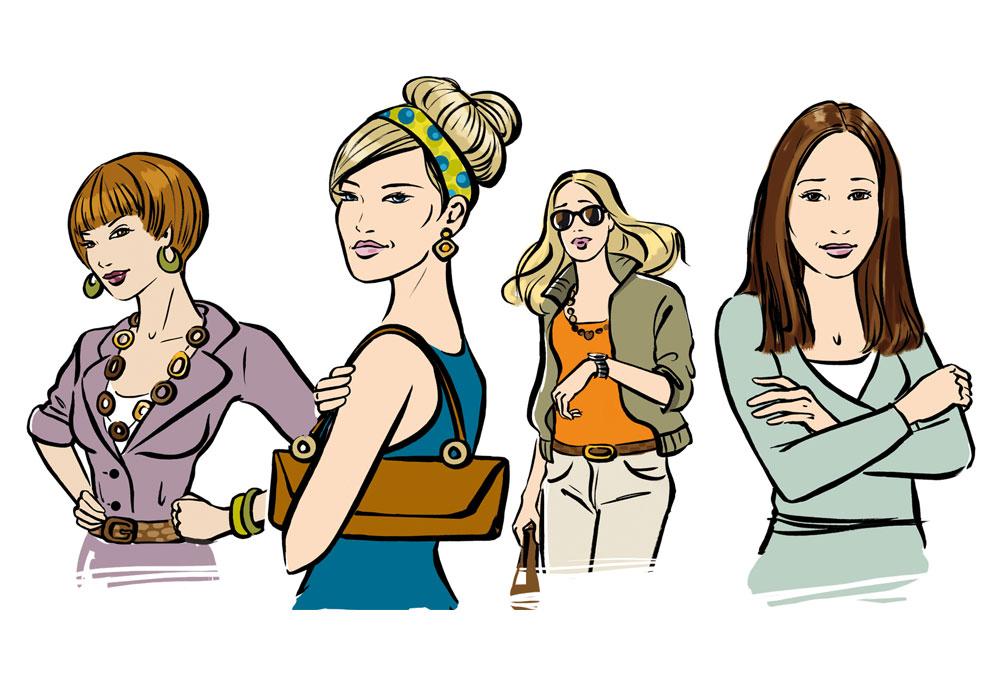 Character Kundin Characterdesign Frauencharacter Illustration Sylvia Wolf