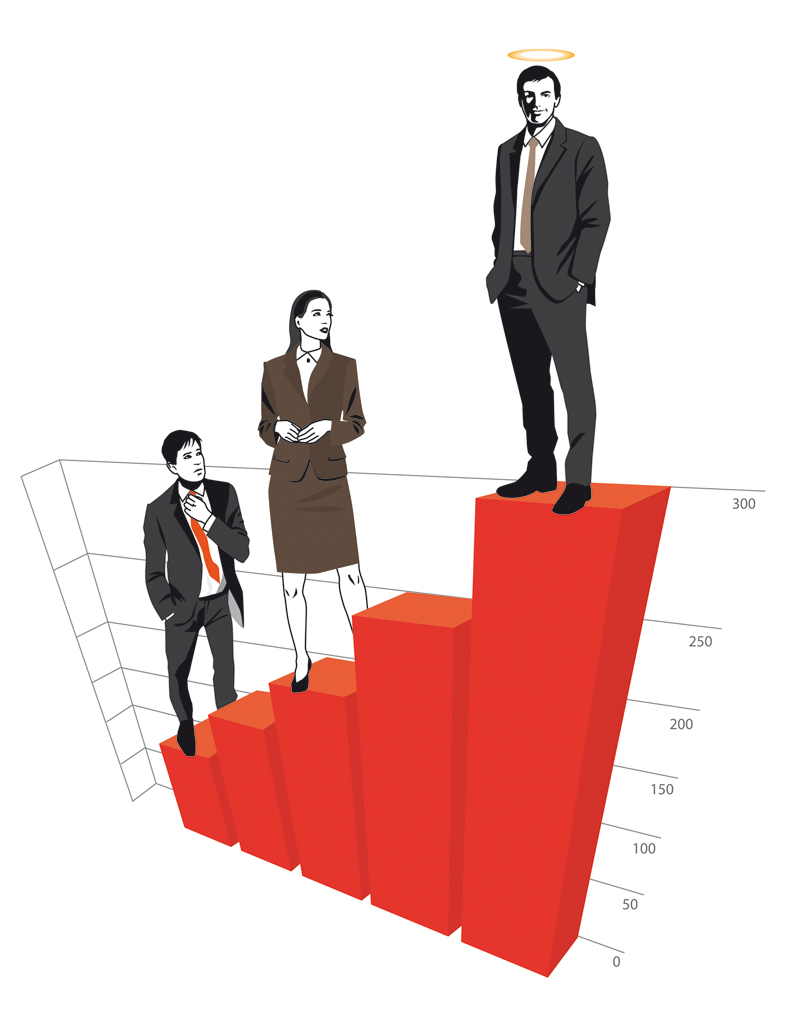 Harvard Business Manager Editorial Illustratio Syliva Wolf