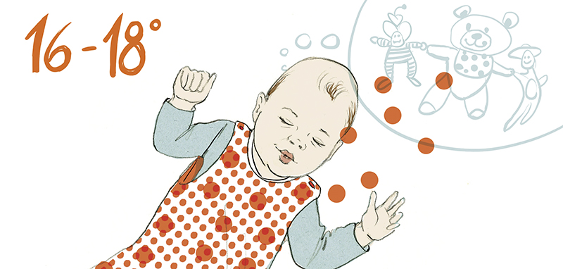 Baby Traum Sylvia Wolf Illustrationen