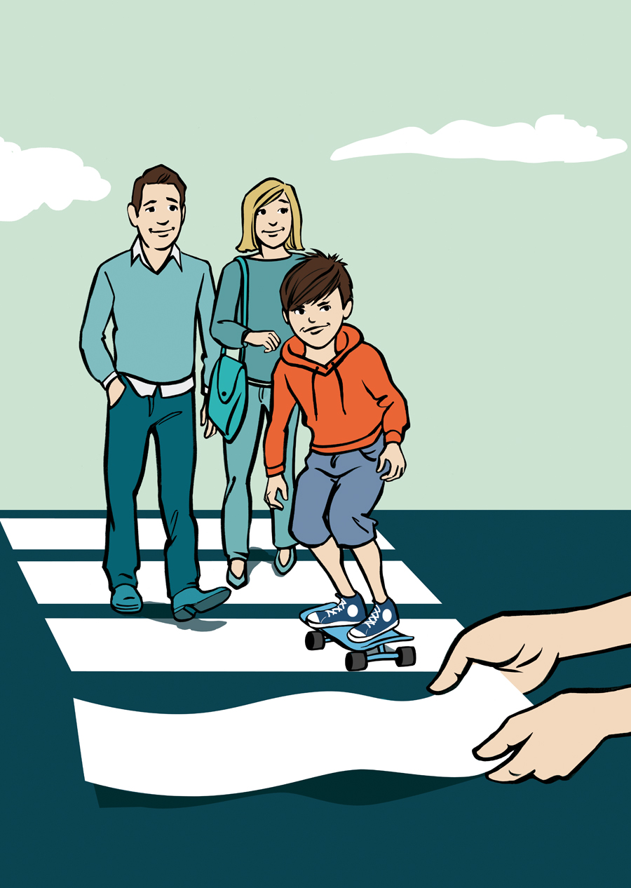 Kinder Jugendhilfe IKJ Sylvia Wolf Illustration