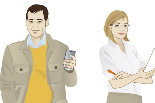 Persona Character Caracterdesign Sylvia Wolf Illustrationen