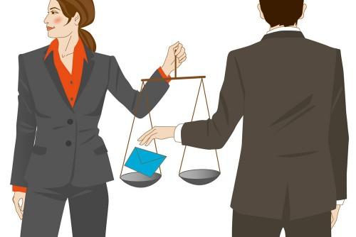 Compliance Hinweisgeber Illustration Sylvia Wolf