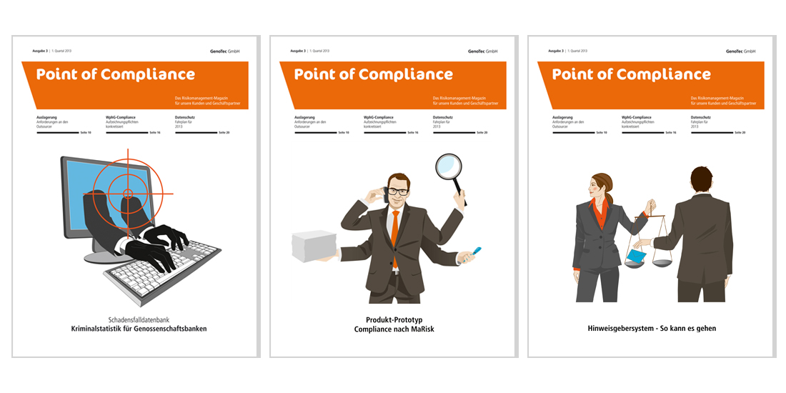 Point of Compliance Cover Illustration Sylvia Wolf
