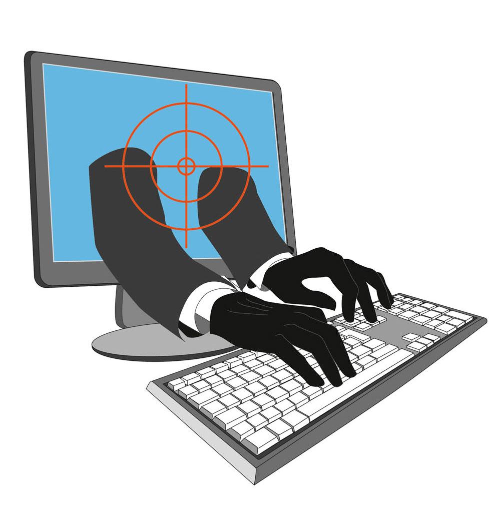 Point of compliance Kriminalitaet im Netz Illustration Sylvia Wolf