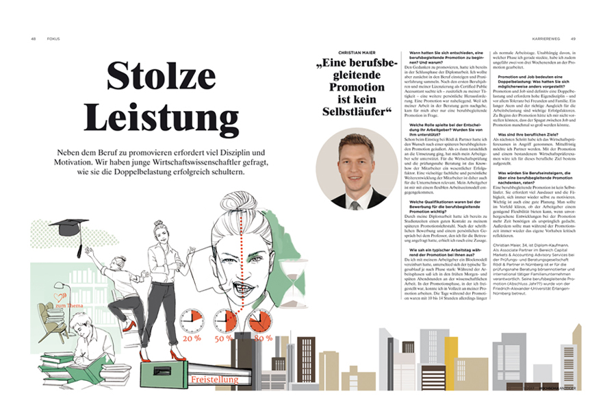 Promotion Artikel Sylvia Wolf Illustration