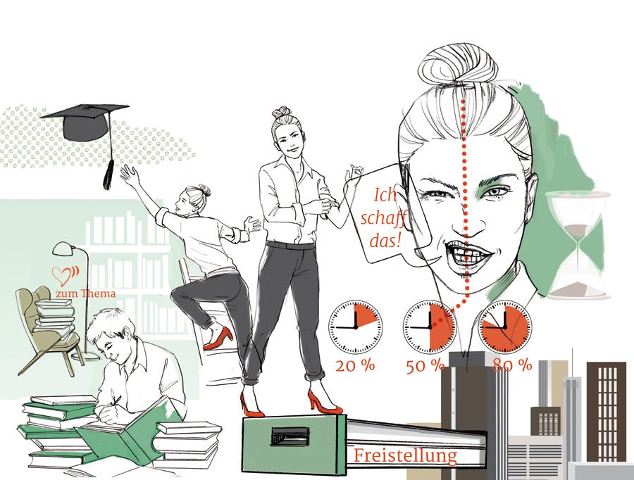 Promotion Sylvia Wolf Illustration
