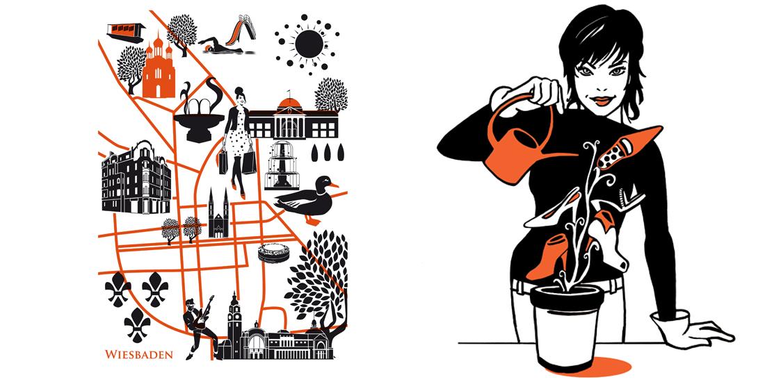 Siebdruck_Illustration_Sylvia_Wolf