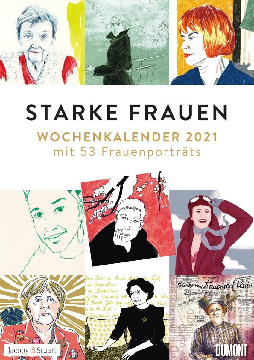 Starke Frauen Wochenkalender 2021