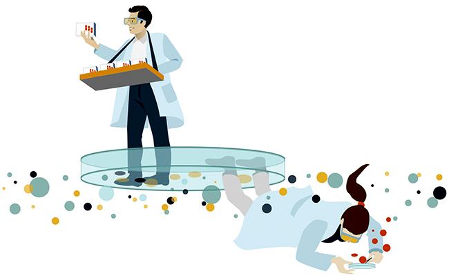 Sylvia Wolf Editorial Illustrationen Pharma
